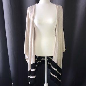H&M Striped Kimono Flowy Oversized